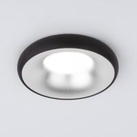Встраиваемый точечный светильник (118 MR16) серебро/черный