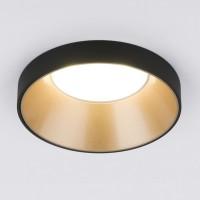 Встраиваемый точечный светильник (112 MR16) золото/черный