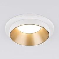 Встраиваемый точечный светильник (113 MR16) золото/белый
