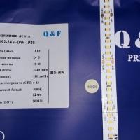 Светодиодная лента QF Premium 2835 192 LED/м 18 Вт/м 24В (2835-192-24V) IP20, 5м