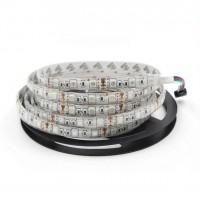 Светодиодная лента QF Premium 5050 60 LED/м 14,4 Вт/м 24В RGB (5050-60-24V-RGB ) IP67, 5м