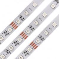 Светодиодная лента Premium QF 5050 60 LED/м 14,4 Вт/м 24В RGB (5050-60-24V-RGB) IP20, 5м