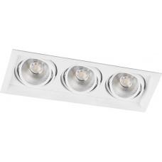 Светодиодный карданный светильник  Feron AL203 3x12W 4000K 35 градусов , (29775) Белый