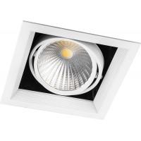 Светодиодный карданный светильник  Feron AL211 1x30W 4000K 35 градусов , (29779) Белый
