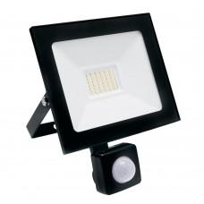 Светодиодный прожектор SAFFIT с выносным датчиком SFL80-30 IP65 30W 6400K (29523) Черный