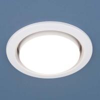 Встраиваемый точечный светильник 1035 GX53 WH белый