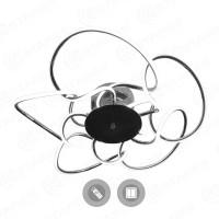 Управляемый светодиодный светильник CAMELIA 120W R-600-CROME/OPAL-220-IP20
