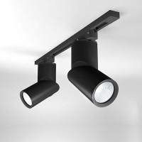Трековый светодиодный светильник для однофазного шинопровода Corner 15W (LTB33) Черный