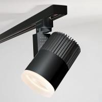Трековый светодиодный светильник для однофазного шинопровода Accord 20W (LTB36) Черный