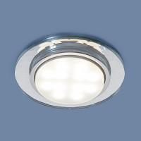 Встраиваемый точечный светильник Elektrostandard 1061 GX53 CL прозрачный