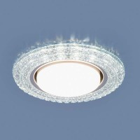 Точечный светильник со светодиодами Elektrostandard 3030 GX53 CL прозрачный