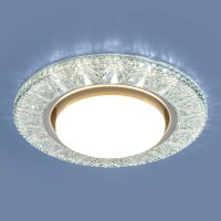 Точечный светодиодный светильник Elektrostandard 3022 GX53 CL прозрачный
