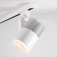 Трековый светодиодный светильник для однофазного шинопровода Accord 30W (LTB20) Белый