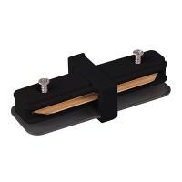 Коннектор прямой для однофазного шинопровода (TRC-1-1-I-BK) черный