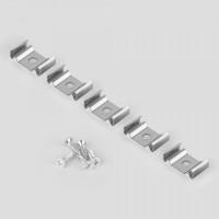 Клипса монтажная для гибкого профиля для светодиодной ленты (5 шт) Clip LL-2-ALP012
