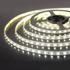 Светодиодная лента 12V  5050/60 LED 14.4W IP20 Холодный белый свет 6500К (5 метров)