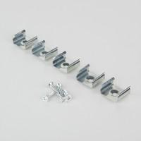 Клипса монтажная для профиля LL-2-ALP006 для светодиодной ленты (5 шт) Clip LL-2-ALP006