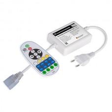 Контроллер для светодиодной ленты Premium мультибелый с ПДУ 220V (радио) IP20 (LSC 007)