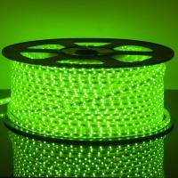 Светодиодная лента LSTR001 220V 4,4W IP65 Зеленый (LSTR001) - 100 метров