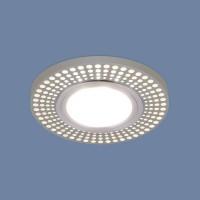 Встраиваемый точечный светильник с LED подсветкой 2231 MR16 CH хром