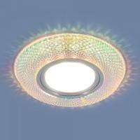 Встраиваемый точечный светильник с LED подсветкой 2237 MR16 MLT мульти