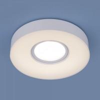 Встраиваемый точечный светильник с LED подсветкой 2240 MR16 WH белый