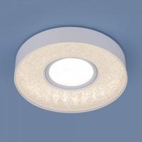 Встраиваемый точечный светильник с LED подсветкой 2241 MR16 WH белый
