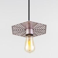 Накладной потолочный светодиодный светильник  50167/1 перламутровое золото