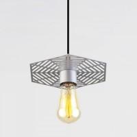 Накладной потолочный светодиодный светильник  50167/1 серебряный