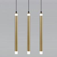 Накладной потолочный светодиодный светильник  50133/3 LED бронза