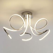 Светодиодный потолочный светильник 90068/5 хром (72W) CHR