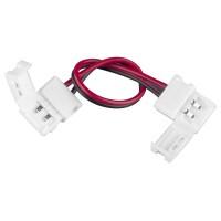 Коннектор для одноцветной светодиодной ленты 3528 гибкий двусторонний 10 шт