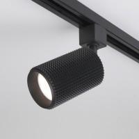 Трековый светильник для однофазного шинопровода Spike GU10 Черный (MRL 1011)