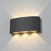Настенный светильник Elektrostandard 1551 Techno LED Twinky Trio серый