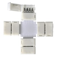 LED 3X коннектор для RGB ленты X (5 шт)