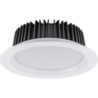 Светодиодный светильник Feron AL253 встраиваемый 12W 4000K , 90 градусов , белый 32625