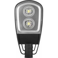 Светодиодный уличный фонарь консольный Feron SP2553 120W 6400K 230V, черный 12181