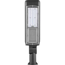 Светодиодный уличный фонарь консольный Feron SP2820 100W 6400K 85-265V/50Hz, черный 32253