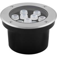 Светодиодный светильник тротуарный (грунтовый) Feron SP4113 9W 2700K 230V IP67 32018