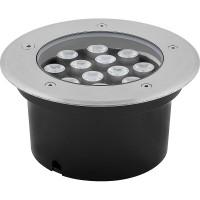 Светодиодный светильник тротуарный (грунтовый) Feron SP4114 12W 6400K 230V IP67 32022