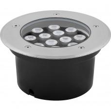Светодиодный светильник тротуарный (грунтовый) Feron SP4114 12W RGB 230V IP67 32023
