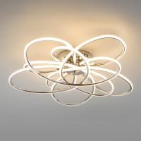 Люстра светодиодная с пультом 90143/5 (216W) Хром