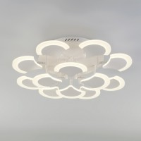Потолочный светодиодный светильник с пультом управления 90159/12 белый