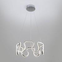 Подвесной светодиодный светильник 90171/2 хром