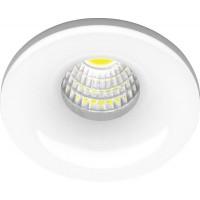 Светильник встраиваемый светодиодный, для подсветки мебели Feron LN003 встраиваемый 3W 4000K белый (28771)