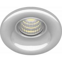 Светильник встраиваемый светодиодный, для подсветки мебели Feron LN003 встраиваемый 3W 4000K Хром (28772)