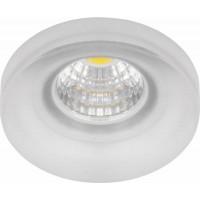 Светильник встраиваемый светодиодный, для подсветки мебели Feron LN003 встраиваемый 3W 4000K Прозрачный (28774)