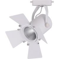 Трековый светодиодный светильник для однофазного шинопровода Feron AL110 30W 4000K 35 градусов (32558) Белый