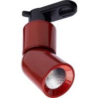 Трековый светодиодный светильник для однофазного шинопровода Feron AL114 10W 4000K 35 градусов (41012) Красный