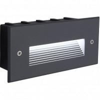 Светодиодный светильник Feron LN012 встраиваемый 5W 4000K, IP65, серый 41174